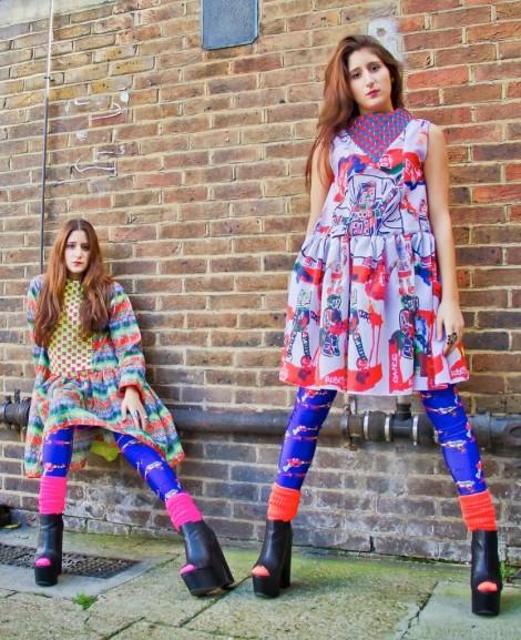 Nadia and Zehra Coloring London