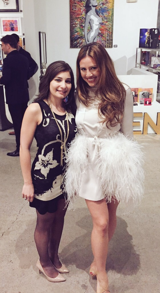 Sidebuy's CEO, Mona Akhavi, with Brittney Kuczynski, CAFA co-founder